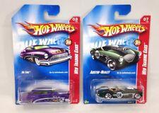Hot Wheels 2008 Web Trading Cars Lot #3 So Fine & #7 Austin Healey