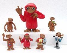 E.T. THE EXTRA-TERRESTRIAL serie di 7 figure UNIVERSAL STUDIOS 2001 / TOYSRUS