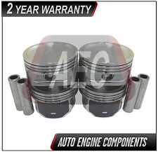 Piston Set Fits Ford Fiesta Ka 1.6 L Zetec-Rocam  #P6362