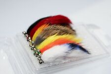 7 Colors Assorted Zonker Streamers Trout Fly Fishing Flies Lures Fly Set-Size #6