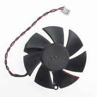 Diameter 45mm PLD05010S12L 0.1A 2pin Vedio Card VGA Cooler Fan For nVIDIA Geforc