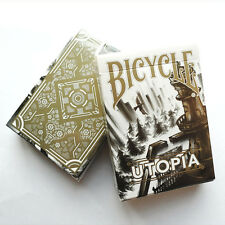 Bicycle Utopia White and Gold Playing Cards Deck Brand New