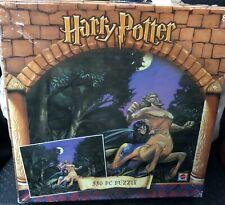 Harry Potter 2001 Mattel 550 Piece Puzzle Centaur Firenze Forbidden Forest 42759