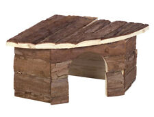 Nobby Patty casetta angolare in legno naturale per roditori