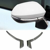 Fit For Toyota 2019 COROLLA HATCHBACK Chrome Rear View Mirror Side Molding Cover