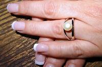 NEU Valero Pearls  Ring 925 Sterling Silber 52 16,6 Süßwasser Perle Ostern Luxus