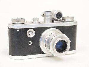 Corfield Periflex I Camera and Lumar 50mm F3.5 Lens. Stock No u11399