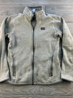 Patagonia Better Sweater Gray Full Zip Fleece Jacket Women's Size S