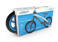 NEW Chillafish RS BMX Lightweight Balance Bike Airless Tires Blue Christmas Gift