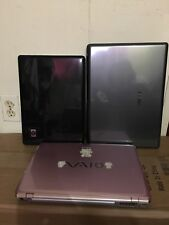 LOT OF 3 MiX laptops AS - IS (please see pictures & read description)