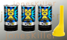 BG MOA Motor Oil Additive 11oz (3 Pack) with funnel From the makers of BG44k