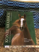 Book Konie Arabskie / Arabian Horses in slipcover (dual language) Rare