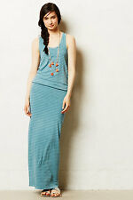 NIP Anthropologie Breakwater Maxi Dress by Sunday Made In USA Size L