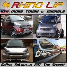 Rubber Splitter Spoiler Bumper Guard Chin Lip Modified Tuned Smart Car Body Kit Fits Saturn Aura