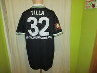 Borussia Mönchengladbach Reebok Europapokal Trikot 1996/97 + Nr.32 Villa Gr.XXL
