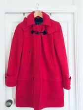 Joules Woolsdale Wool Coat. Immaculate. 10 (generous). Raspberry. Worn Once