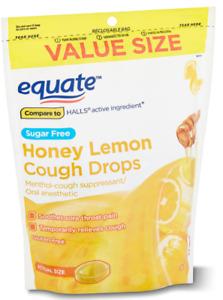 Sugar Free Honey Lemon Cough Drops Value Size with Menthol
