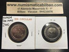 NUMISMATICA BILBAO ESPAÑA 200 PESETAS 2000 JUAN CARLOS I MONEDA SC KM.992 Spain