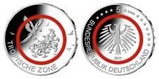 Germania 5 € 2017 Zona tropicale  FDC UNC zecca J