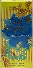 💝Christian Lacroix C'est la Fete EdP Natural Spray 50 ml OVP/NEU
