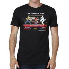 Karate Kid Cobra Kai Fight Scene Pixel 8BIT Men's T Shirt Daniel v Johnny Zabka