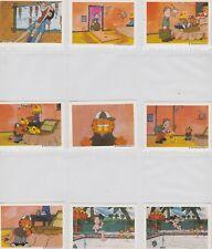 1978 GARFIELD ALBUM STICKERS COMPLETE SET OF 180