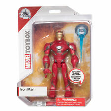 Disney Store Iron Man Action Figure Marvel Toybox Avengers New with Box