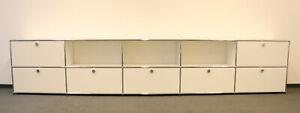 Sideboard, Aktenschrank, Lowboard, TV-Board USM Haller 160419-03