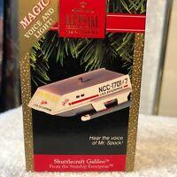 Hallmark Keepsake Ornament Shuttlecraft Galileo -Star Trek Magic,1992.NMIB,