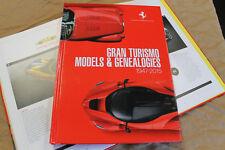 FERRARI Gran Turismo Models & Genealogies Book brochure magazine 95998205