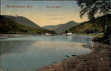 Bad Niederbronn-les-Bains Frankreich France Elsass 1911 Weiher Teich See Berge