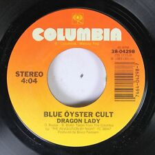 Rock 45 Blue ÖYster Cult - Dragon Lady / Shooting Shark On Columbia