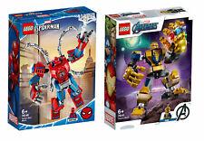 Lego ® Marvel Super Heroes 76146 Spider-Man y 76141 Thanos Mech