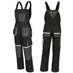 EURO CLASSIC_Overalls Work Trousers Bib & Brace Knee Pad Dungarees Multi Pockets