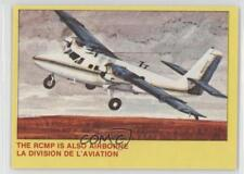 1973 O-Pee-Chee Royal Canadian Mounted Police #5 The RCMP is Also Airborne 0s4
