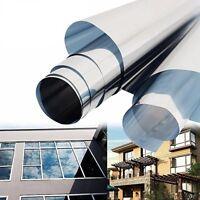 (17 EUR/m²) Sonnenschutz  Fensterfolie UV Sichtschutzfolie - 30 X150 cm