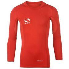 Abbigliamento rossi in nylon per bambini dai 2 ai 16 anni