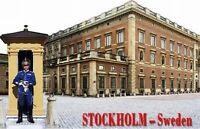 Stockholm Schweden Wachsoldat Sweden,3D Holz Magnet,Souvenir,NEU