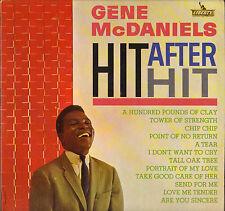 "GENE McDANIELS ""HIT AFTER HIT"" POPCORN SOUL 60'S LP LIBERTY 3258"