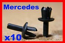 Bota De Puerta 10 Mercedes Cuerpo Recortar Clips Sujetador Bonnet empujar remaches