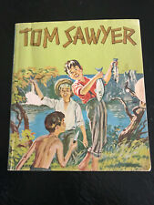 TOM SAWYER 1956 Advertising Golden BOOK FREE WITH PURCHASE OF 2LB NESTLE'S QUIK