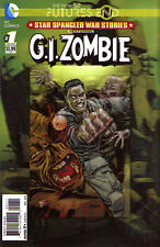 STAR SPANGLED WAR STOIES: GI Zombie FUTURES END #1 3D - New 52 -  New Bagged