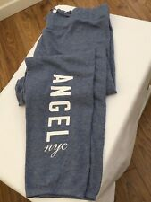 VICTORIA'S SECRET VS Angel Graphic Gym or Lounge Pant Light Steel Blue Size S M