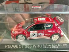 "1/43 PEUGEOT 206 WRC Richard Burns by ALTAYA with  ""Marlboro"" Sponsor"