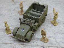 Airfix Compatible 1/72 WWII German Krupp L2H Truck & Airfix Soldiers Lot#3723B