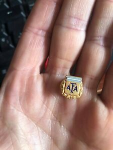 Original AFA Argentina Soccer Association pin badge ENAMELED
