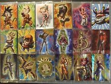 Dragon Ball Unlimited card wafers Part 1 18 cards