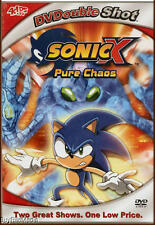 SonicX: Pure Chaos and A Chaotic Day (DVD   2 Full Episodes)