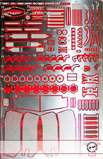 STUDIO 27 RED BULL RACING RB6 DETAIL UP for TAMIYA 1/20 VETTEL WEBBER