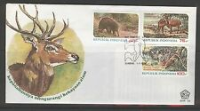 INDONESIA 1978 FDC SHP 55 WILDLIFE  + BLANK
